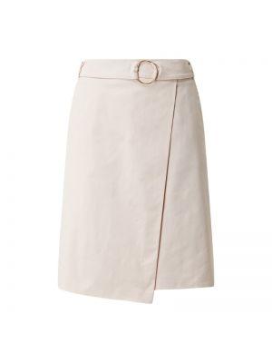Różowa spódnica rozkloszowana z paskiem Betty Barclay