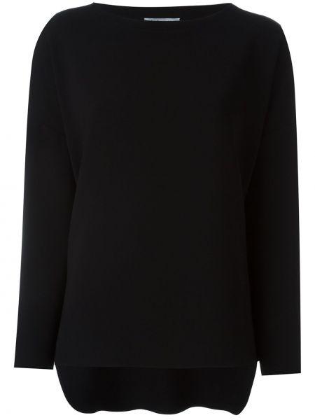 Черная футболка с длинными рукавами Alberto Biani