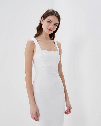 Белое платье весеннее Met