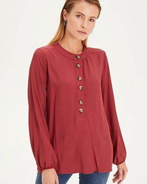 Блузка с длинным рукавом бордовый красная Lc Waikiki