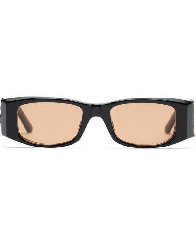 Czarne włoskie okulary Palm Angels