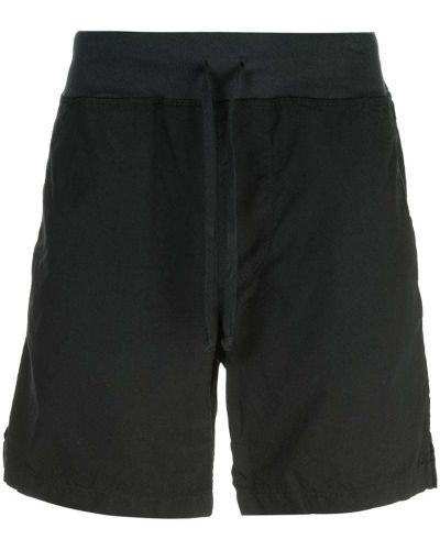 Черные короткие шорты на резинке Save Khaki United