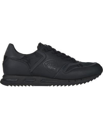 Кожаные кроссовки - черные Blauer