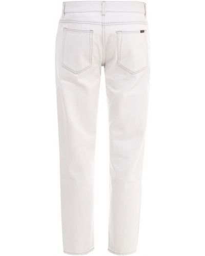 Jeansy - białe Saint Laurent