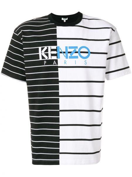 Koszula krótkie z krótkim rękawem prosto w paski Kenzo