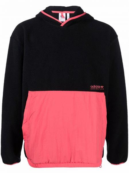 Bluza z kapturem - czarna Adidas