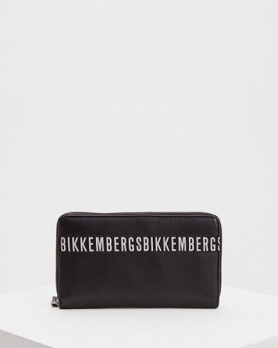 Черный кошелек Bikkembergs