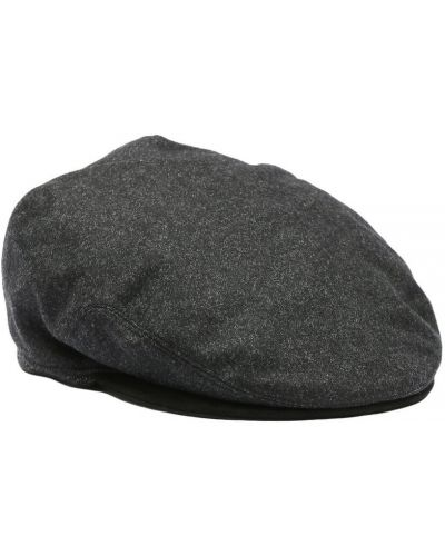 Szara czapka wełniana Lardini