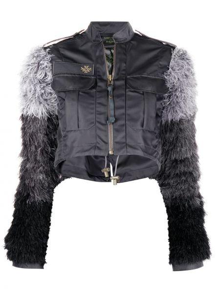 Длинная куртка - черная Mr & Mrs Italy