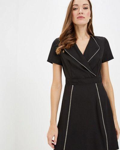 Платье осеннее черное Paccio