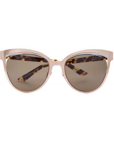 Солнцезащитные очки кошачий глаз стеклянные Dior (sunglasses) Women