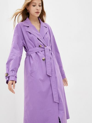 Фиолетовый тренчкот осенний Shartrez