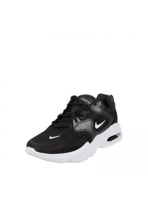 Czarne sneakersy materiałowe Nike