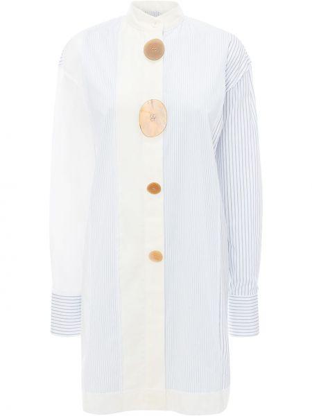 Рубашка с длинным рукавом - белая Jw Anderson