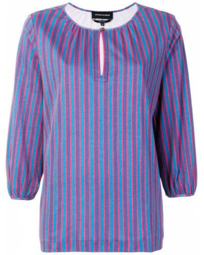Блузка в полоску - синяя Vanessa Seward