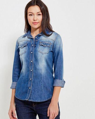 Синяя джинсовая рубашка Met