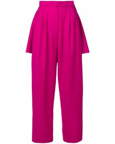 Розовые брюки с бантом Marta Jakubowski