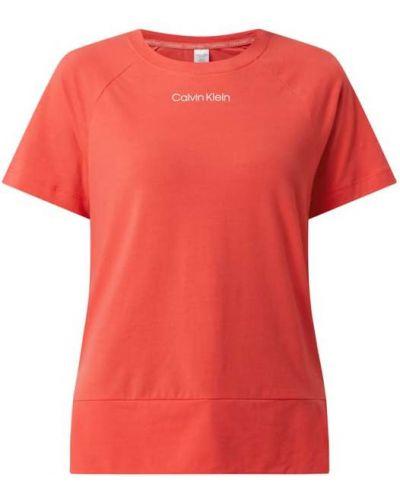 Piżama bawełniana krótki rękaw Calvin Klein Underwear