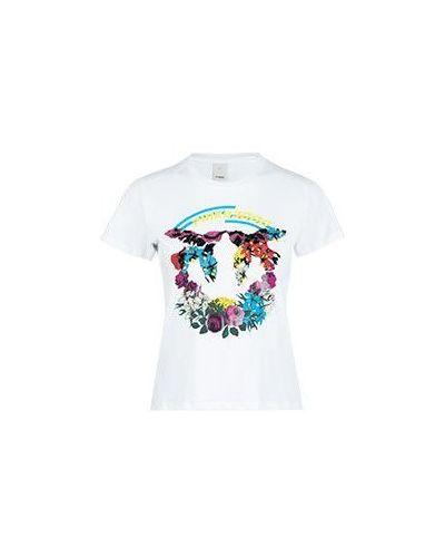 Белая футболка Pinko