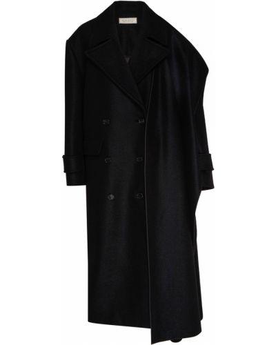 Длинное пальто шерстяное с воротником Nina Ricci