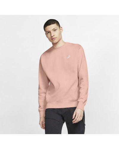 Różowa bluza dzianinowa Nike