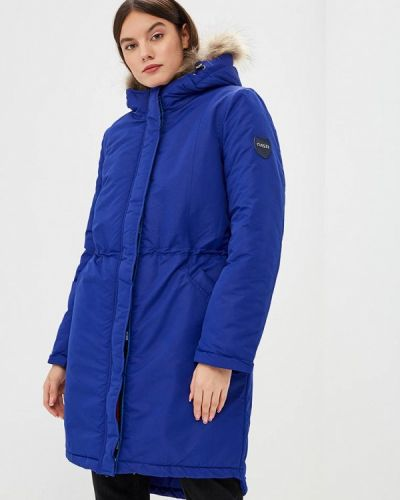 Пальто осеннее синее Dasti