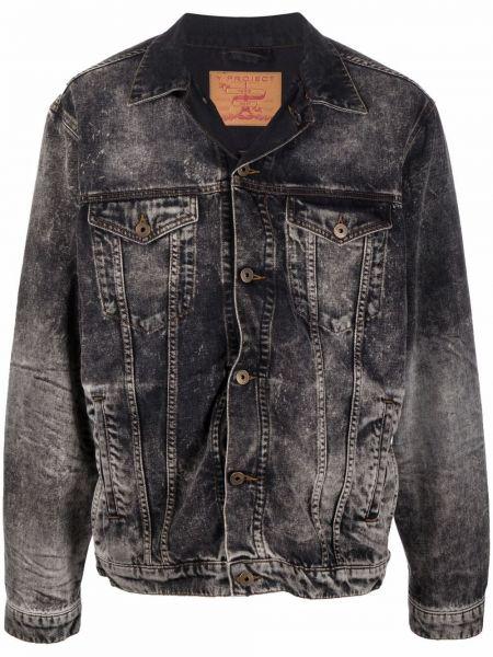 Черная длинная куртка Y/project