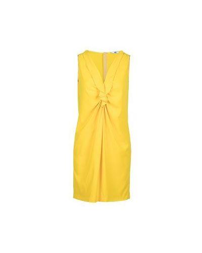 Летнее платье коктейльное желтый Ice Iceberg