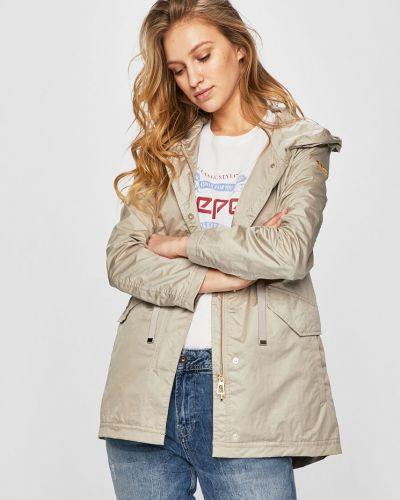Куртка с капюшоном облегченная с карманами Geox
