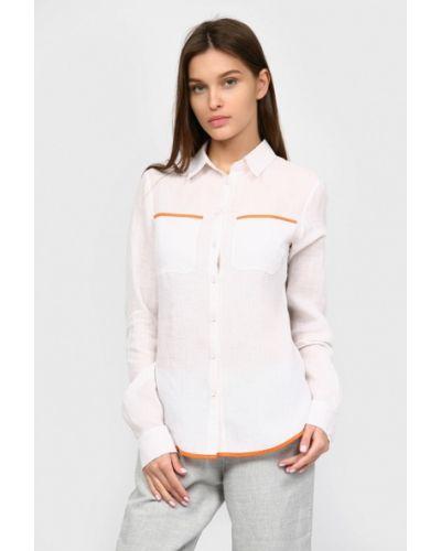 Рубашка с длинным рукавом белая Inna Lee