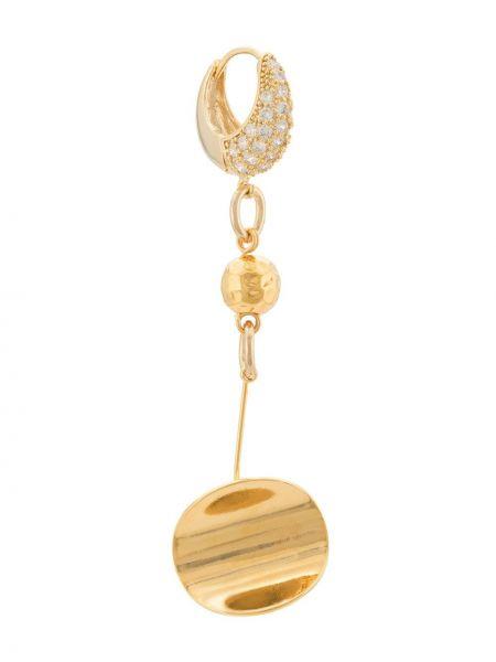 Золотые серьги Mounser