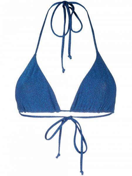 Синий лиф с чашками эластичный Mc2 Saint Barth