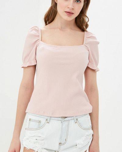 Розовая футболка 2019 Glamorous