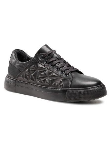 Sneakersy - czarne Badura
