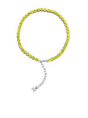 Браслет - желтый Amina Muaddi