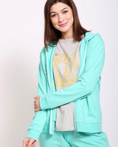 Хлопковый пиджак - зеленый Just Valeri