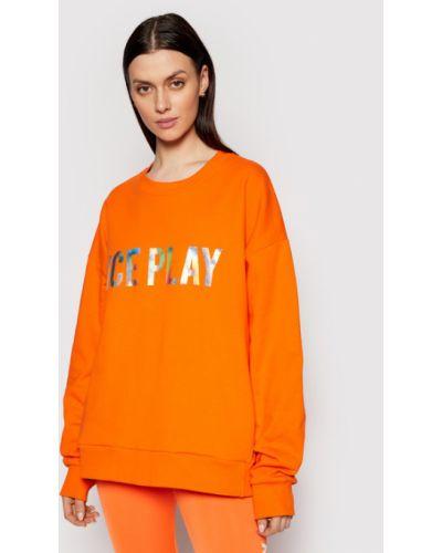 Pomarańczowa bluza Ice Play