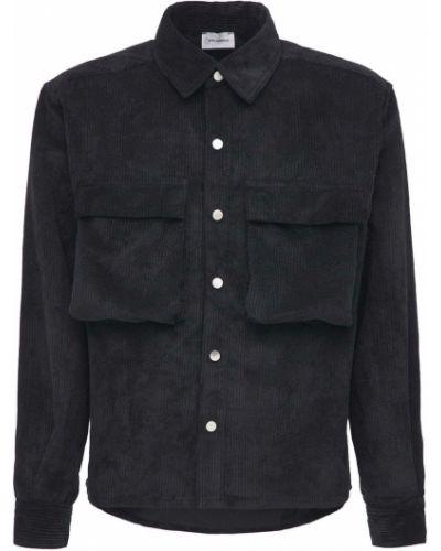 Czarna koszula bawełniana Askyurself