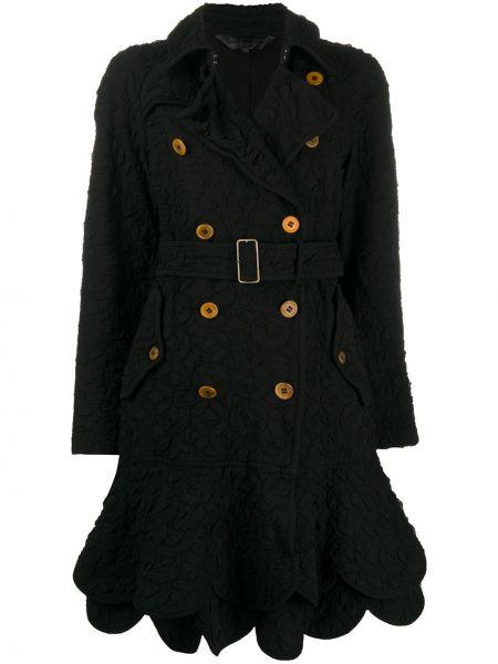Pikowana płaszcz długi z kieszeniami Comme Des Garçons Pre-owned