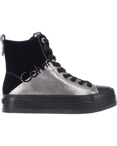 Кеды черный серый Calvin Klein Jeans