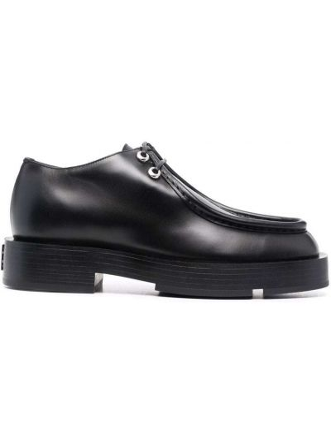 Półbuty skórzane - czarne Givenchy