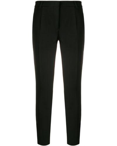 Укороченные брюки зауженные с карманами Blanca