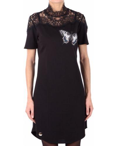 Черное платье Philipp Plein