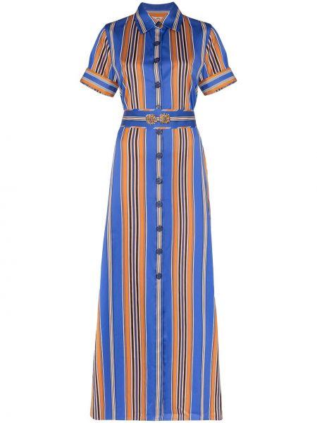 Классическое платье мини на пуговицах Evi Grintela