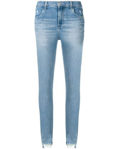 Джинсы-скинни с карманами с накладными карманами J Brand