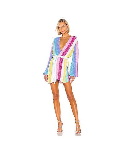 Платье с запахом из вискозы Retrofete