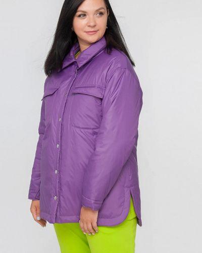 Утепленная куртка - фиолетовая Лимонти