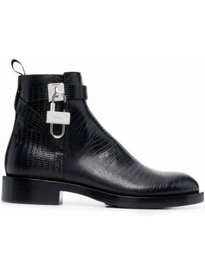 Botki na obcasie - czarne Givenchy