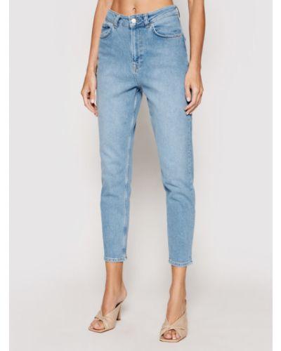 Mom jeans - niebieskie Na-kd