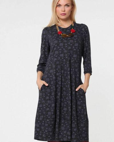 Платье серое прямое Kata Binska